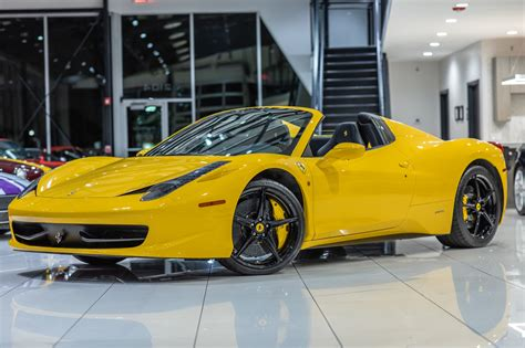 2014 ferrari 458 speciale for sale in pasig. Used 2013 Ferrari 458 Spider - Original MSRP $333k+ Loaded! CARBON FIBER RACING PACKAGE! For ...