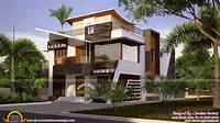 modern home design Floor Plan Ultra Modern House Kerala Home Design Plans ...