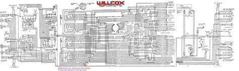 1968 corvette wiring diagram tracer schematic willcox