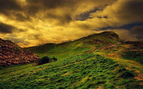 Grassy Hills Wallpapers
