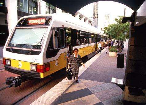 dallas light rail dallas dart s light rail success drives vigorous