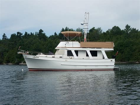 Boats For Sale Rouses Point Ny by Marine Trader Trawler Sedan 1985 Used Boat For Sale In