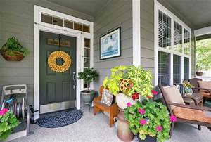 Front, Porch, Decorating, Tips, From, A, Designer, U2013, Sunlit, Spaces