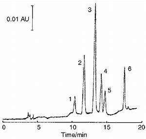 Chromatogram Of A Standard Solution   1  Epigallocatechin