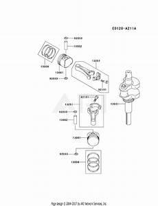 Kawasaki Fh580v Crankshaft