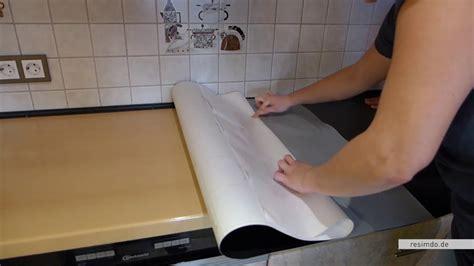 Arbeitsplatte Küche Folie by Resimdo De Arbeitsplatte Bekleben