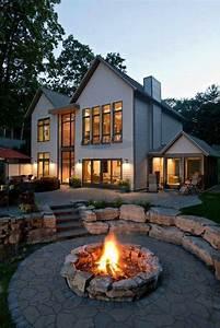 Feuerstelle Im Garten : die besten 17 ideen zu garten feuerstelle auf pinterest feuerstellen g rten und kamin dekor ~ Indierocktalk.com Haus und Dekorationen