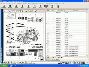 New Holland Europe  Spare Parts Catalogs Download