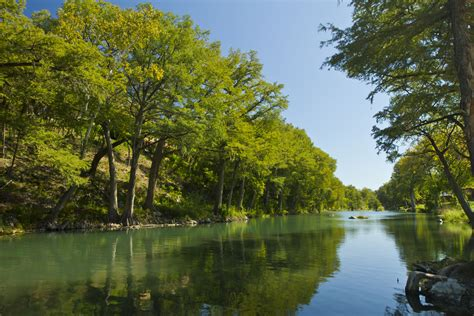top 5 destinations for river recreation in texas