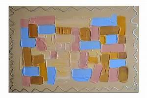Tableau En Relief : tableaux abstrait peintures abstrait toile deco ~ Melissatoandfro.com Idées de Décoration
