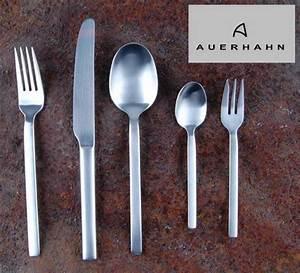 Besteck 12 Personen : auerhahn besteck set vento matt 60 tlg f 12 personen ebay ~ Orissabook.com Haus und Dekorationen