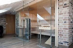 Sauna Unter Dachschräge : glasfront sauna luxuri s design transparent apart sauna ihre individuell geplante sauna ~ Sanjose-hotels-ca.com Haus und Dekorationen