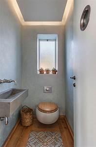 Kleine Gäste Wc Ideen : g ste wc mit deckenbeleuchtung im l ndlichen stil ~ Sanjose-hotels-ca.com Haus und Dekorationen