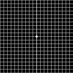 Amsler Grid For Macular Degeneration Self Test