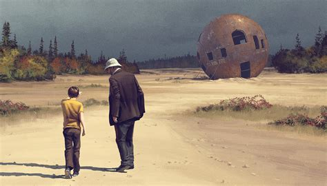Tales from the Loop: Sci-Fi Paintings Become Small Town ...