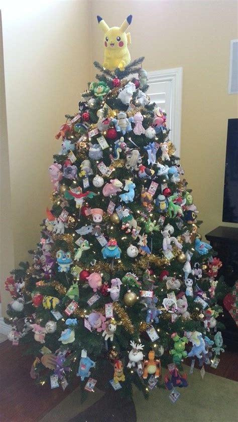 geeky christmas trees  celebrate  favorite fandoms
