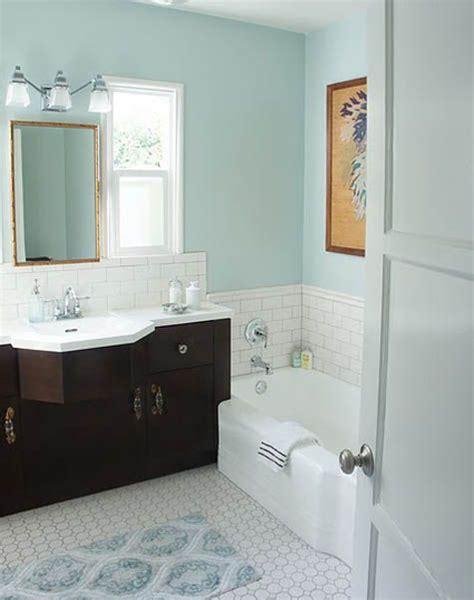 color combo light floors dark vanity pale blue walls