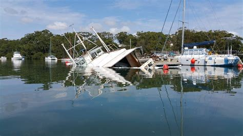 Sinking Boat Tragedy by Sinking Boat At Lemon Tree Passage Photos Port