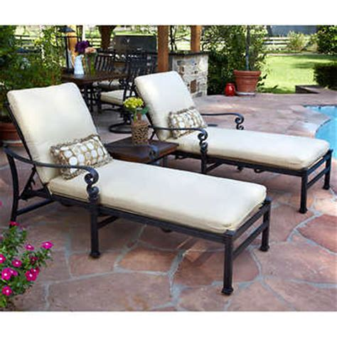 meridian 3 patio chaise lounge set