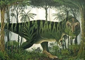 Images Alexander Lovegrove Dinosaurs Rainforest Tyrannosaur