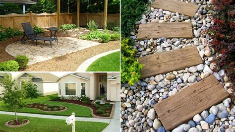 35 easy simple and cheap landscape ideas for front yard garden ideas youtube
