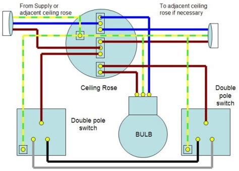 Two Way Light Switch Wiring Diagram Electrical