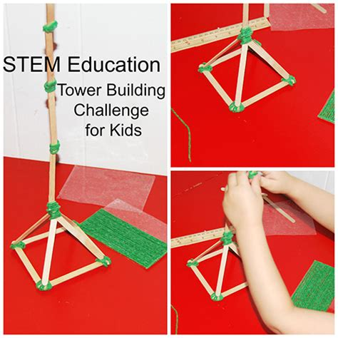stem for tower building challenge wikki stix