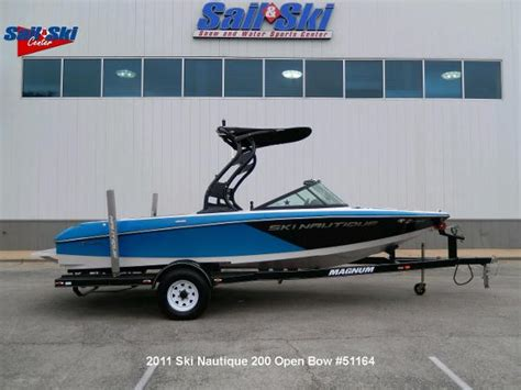 Used Ski Nautique Boats For Sale by Used Nautique Ski Nautique 200 Open Bow Boats For Sale