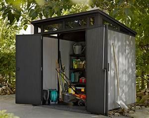 Gartenhaus 4 X 3 : keter kunststoff ger tehaus artisan 7x7 grau anthrazit 214x218cm bei ~ Orissabook.com Haus und Dekorationen