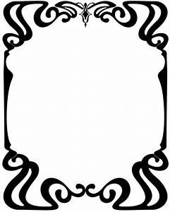 Art Nouveau Frame - Cliparts.co