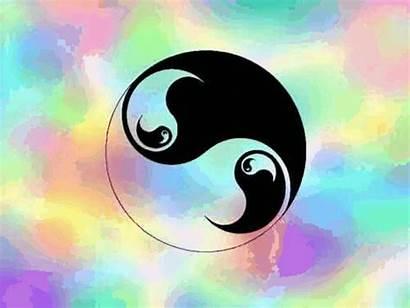 Yang Ying Yin Animated Symbol Background Gifs