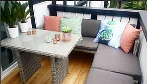 bescheiden lounge mobel fur kleinen balkon kleiner ideen With balkon ideen lounge