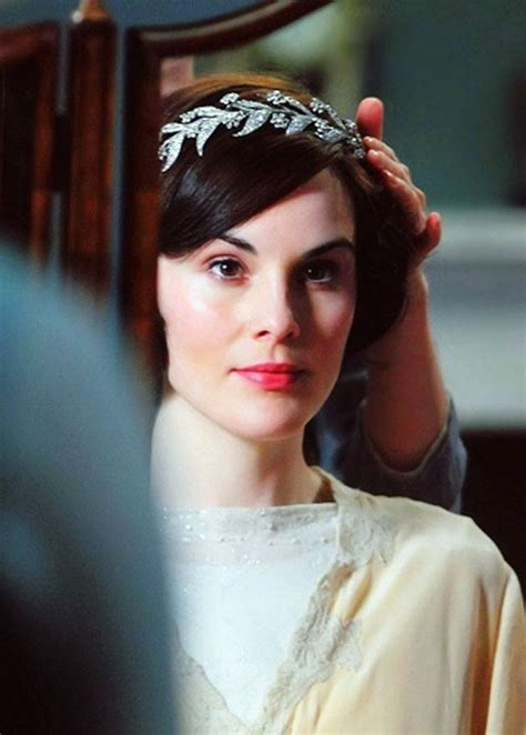 mary lady diamond tiara wedding tiaras downton abbey princess headband hair fashionable became crawley diy season leaf effect again head