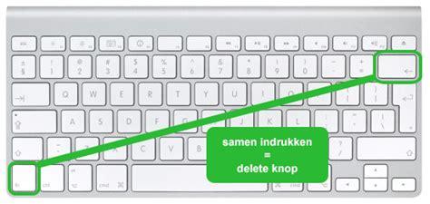Windows Knop Werkt Niet by Hoe De Delete Knop Op Een Mac Terugvinden Hoedoen Be