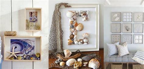 decorar el hogar  originales conchas de mar
