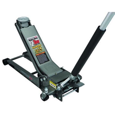 2 ton low profile long reach steel heavy duty floor jack