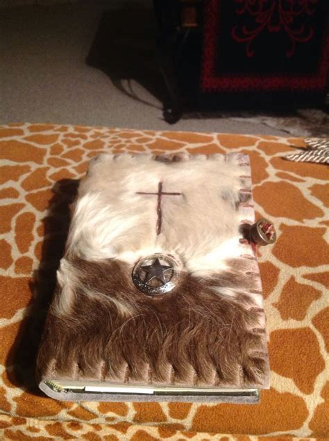 Cowhide Bible Cover by Cowhide Bible Cover Cowhide Here I Come