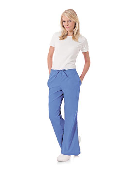 landau 8335 landau 8335 flare leg women s scrubs pants