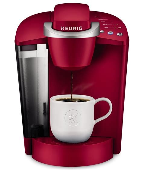 Coffee makers work by heating water and mixing it with grinds from a coffee grinder. Keurig K-Classic Single Serve K-Cup Pod Coffee Maker, Rhubarb - Walmart.com - Walmart.com