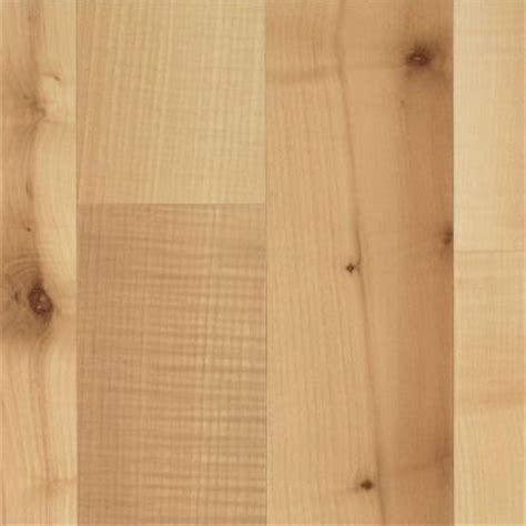 Mohawk Floor Cleaner Home Depot by Mohawk Brentmore Bright Maple Laminate Flooring 5 In X