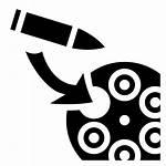 Gun Reload Barrel Svg Icons Icon Transparent