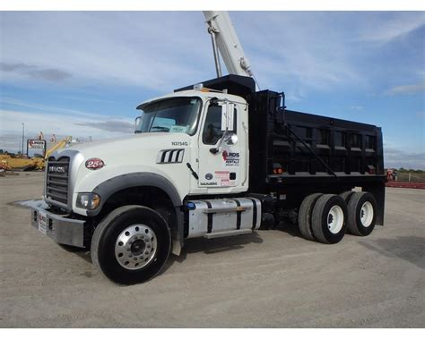 2015 mack granite gu433 heavy duty dump truck for sale