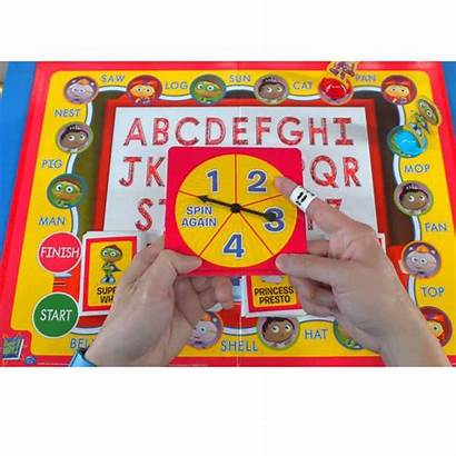 Letter Super Why Abc Alphabet Toys Cards