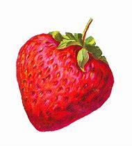 Vintage Strawberry Clip Art