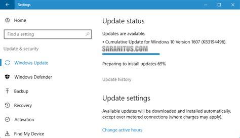 ไมโครซอฟท อ พเดต windows 10 anniversary update เป น build 14393 222
