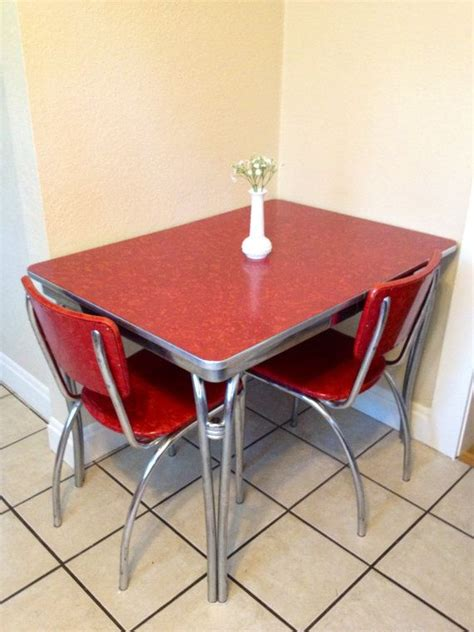 1950 kitchen furniture vintage 1950 39 s formica and chrome kitchen table