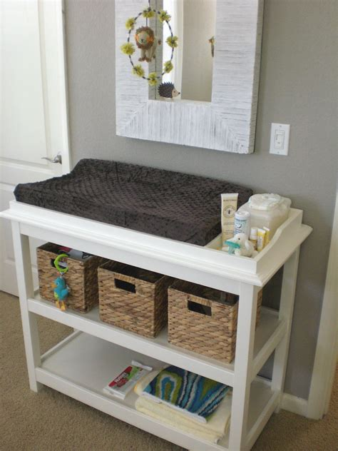 Repurposed Changing Table  Benjamin Cole  Pinterest On