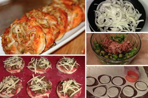 comment faire des mini pizzas au thon la recette