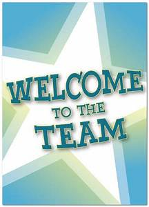 Welcome to the Team Card | Employee Welcome Cards | Posty ...