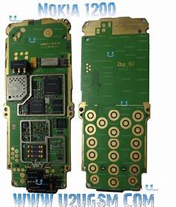Nokia 1200 Full Pcb Diagram Mother Board